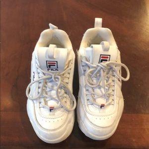 Fila girls Destroyer sneaker size 2.5